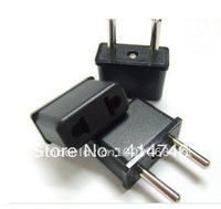 1pcs New Design US/AU To EU AC Power Plug Adapter Travel Converter adaptor AC travel Family