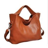 Europe simple style design  genuine leather woman bags 2014 women's handbag vintage one shoulder cross-body bag
