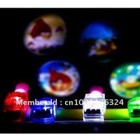 Finger light 4x Colors LED laser finger light  party with opp bag Free shipping 20pcs/lot
