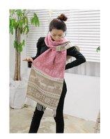 2012 Fashion Women Scarf winter ladies' pendant scarves, women cashmere scarf, shawls for warm