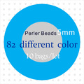 5mm Perler Beads ( 75 Color, 10 bags / Lot ) ~ Hama Beads, Fused Beads ~ Guaranteed 100% Quality + Free Shipping(China (Mainland))