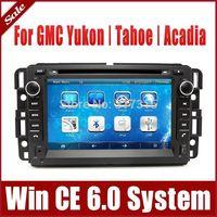 "7"" Head Unit Car DVD Player for GMC Yukon Tahoe Acadia with GPS Navigation Radio BT TV USB SD AUX 3G Auto Audio Stereo Navigator"