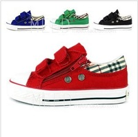 No 5204, 2012 new style fashion sneaker boys sneaker girls shoes kids canvas shoes in stock wholesale canvas kids shoes