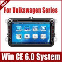 "8"" Car DVD Player for VW Volkswagen Touran Golf Polo Tiguan with GPS Navigation Radio TV BT USB SD AUX Map 3G Audio Video SatNav"
