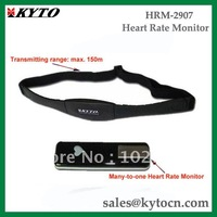 2.4GHz wireless heart rate monitor with 150M distance chest belt HRM-2907