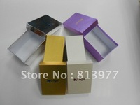 Custom  High-quality paper box /gift box grey/white/gold/purple size19cm*12cm*9cm logo and color customize 200pcs/lot