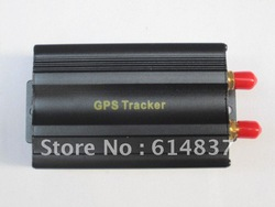 GPS tracker 103 cut off fuel SD card slot 11 languages,free monitor software,real-time track by pc/WAP-track by PDA cell phone(China (Mainland))