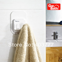 Quality Assurance Bathroom kitchen wall sticker plastic suction cup hooks rail hooks towel shaver Dryer two holder