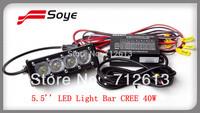 latest design 5.5inch adjustable 4W-40W cree led light bar for off road light bar lighting