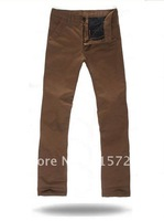 new arrival hot autumn and winter thicker fashion trousers,leisure straight men's casual pants size 29-36 XY-006
