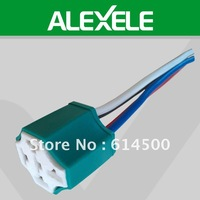Green 14.5CM Ceramic 16GAW 12VDC Auto 4 Pins Relay Socket Holder