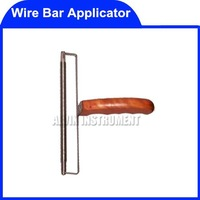 Free Shipping handhold Wire Bar Applicator Wire Rod Coater coaters application  wet film applicators