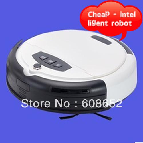 intelligent cleaning robot intelligent vacuum cleaner mini slim Sweeper(China (Mainland))