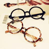 baby photography props 2014 Fashion Cute Black Eyeglasses Frame Glasses Optical Eye Box Circle Glasses Optical,free shipping y14