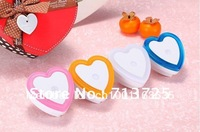 Free Shipping Fashion Design Light Control Night Light Heart-Shaped White, Pink, Orange, Blue 4 Colors Choose, LED Night Lamp