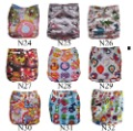 NEW! ALVA reusable nappies  with microfiber insert,washable cloth diapers