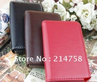 Genuine Leather Business Name Credit ID Card Holder Wallet Case New