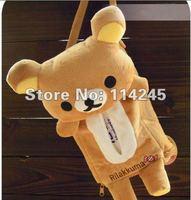 free shipping Car accessories Rilakkuma San-X Cute Plush Car Tissue Box Cover w/Strap Car cartoon hangingbear pumping paper box