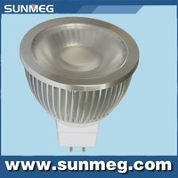Epleds 5W 450Lm COB LED bulb light  MR16 GU5.3 LED Spotlight