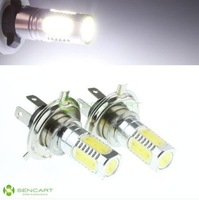 HIGH POWER 7.5W DRL 5 LED 330~380lm 6500K  White H4  lights bulbs Fog LIGHT/Side trun Signal/HEAD LIGHT FREE SHIPPING