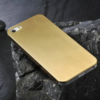 Ultrathin Aluminum case for iphone 5 brushed  aluminium alloy case for iphone5g high quality metal back cover for iphone 5g