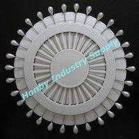 Free shipping by TNT,DHL, wholesale fashionable 55mm teardrop shape wedding decorative pearl head pin