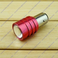 Car Motorcycle P21/5W 1157 BAY15D 380 Tail Rear Stop Brake Flash Blink Red Light LED Bulb Free shipping
