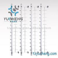 [YUCHENG] metal optical eyeglasses display rods Y017-14