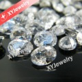 Shining White  (raw material to make jewelry ) Oval 6x8mm Synthetic Cubic Zirconia