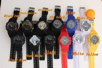 2014  ga100 Watches resist G Cheapest promotion digital watch Outdoor GA 100 Black display watch 10pcs/1lot