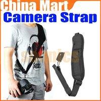 Pro Black Quick Rapid Sling Shoulder Neck Strap Belt for Digital SLR DSLR Camera + Free shipping + Drop shipping