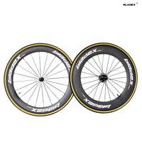 BladeX PRO T/T CARBON WHEELSET 46088T - Triathlon Time Trial Wheels;Ceramic Bearings; Basalt Braking Surface; Bicycle Wheels