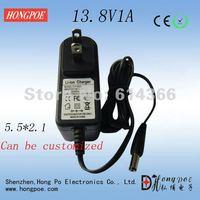 13.8V1A  lead-acid battery charger 100-240VAC