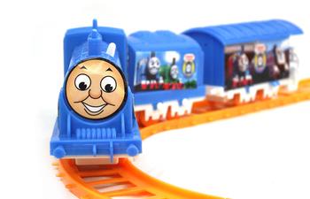 Thomas train set small electric trains thomas train track beautiful small toy free shipping