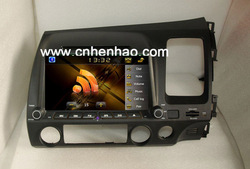 "8"" in dash head unit 2din car dvd gps player for australia right driving civic support original steering wheel control(China (Mainland))"