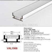 HR-ALU series Heavy Duty Aluminum LED Strip Profile Housing HR-ALU, LED PROFIEL Pro Line Alu HD 8.5 mm