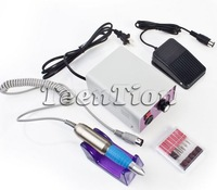 Free Shipping Professional Nail Art Glazing Drill Machine Manicure tool set