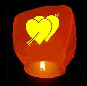 10pcs/lot Free Shipping Chineses Kongming Lantern Flying Sky Lantern Wishing Lamp (Random Color)