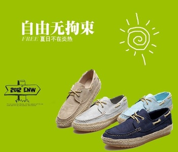 2013 free shipping fashion brand shoes for mens designer canvas plus size  M02023