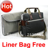 Good Quality Army Green Laptop Bags Can Avialable For 12inch 13inch 14inch Computer For  Men And Women Have Liner Bag For Free