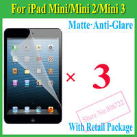 Matte Anti-Glare Anti Glare Screen Protector Protection Guard Film For iPad Mini/Mini2 2,With Retail Package,5pcs/lot