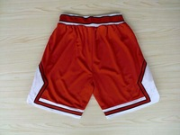 Free Shipping,Hot sale basketball shorts,Chicago 2012 new material Rev 30 shorts,embroidery logos,Size S-XXL