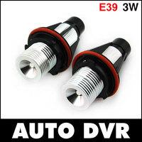 Free shipping.2Pcs/Set LED Marker Angel Eyes Kit for BMW E39 E53 E60/E61 E63/E64 E65/E66 E87