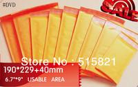 """#DVD-Golden Kraft bubble envelopes padded Mailer 190mm x 269mm (7.5""""x 10.1"""")  50PCS"""