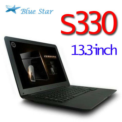 L70 & S330 super shin 13.3 inch CPU Intel ATOM D2500 2G/320G suport windows 7& XP mini laptop(China (Mainland))