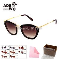 Famous Brand Women Cat Eye Sunglasses Good Quality Stylish Sun Glasses Female UV100% Holiday Gift SMU10NS