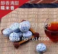 Buy 5 get 1 On Sale!!! 30 pcs/bag Glutinous rice flavor  Pu'er tea, Mini Yunnan Puer tea ,Chinese tea,  Free Shipping