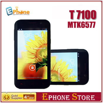 Tinji(Tianji) T7100(N7100) (Note 2)  MTK6577 5.0 inch  Dual Core Android 4.1 Camera 5MP GPS Leather Case as Gift Free shipping