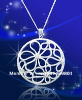 HMP029-BIG Hot styles fashion Jewelry 925 silver big Pendants zircon
