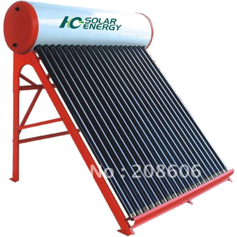 evacuated tube solar collector/ non-pressured solar Water Heaters on sale/18Tubes,150L(China (Mainland))